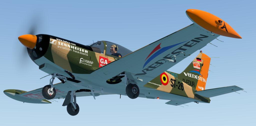 SIAI-Marchetti SF-260 - zawansowany samolot z pazurem
