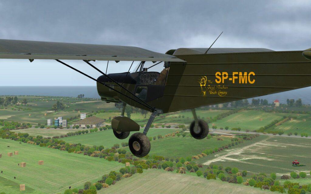 Spectr-Aero SP-30 - Genialny ultralight zachwycający ilością symulowanych systemów i możliwością ich konserwacji.