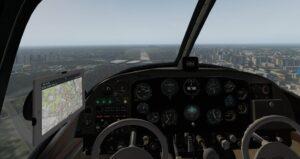 W Navionie czujemy się bardziej jak w samolocie lotnictwa komunikacyjnego niż ogólnego.